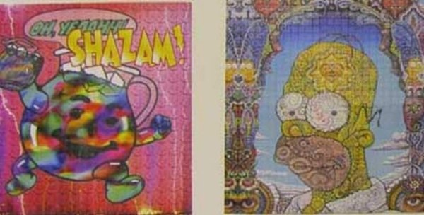 Homer LSD Sheet
