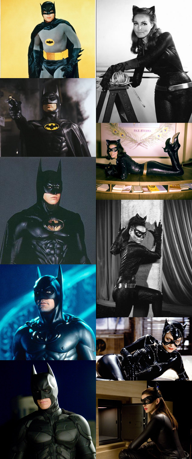 Batmen and Catwomen