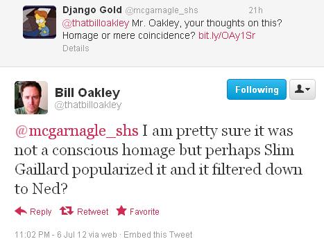 McGarnagle-Oakley Twitter