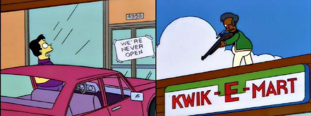 We're Never Open