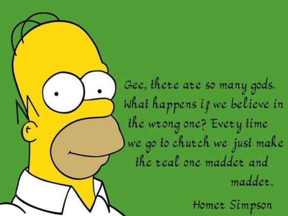Incorrect Homer Quote