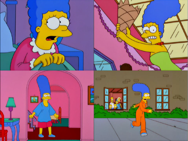 Marge Freakouts
