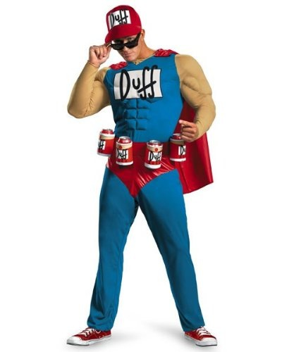 Terrible Duffman Costume