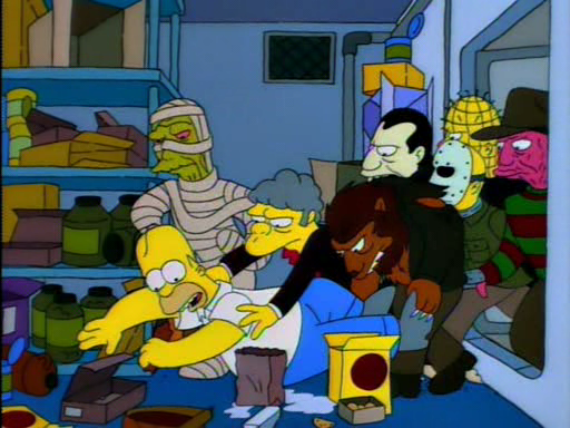 Treehouse of Horror V8