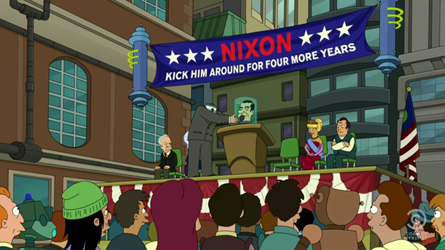 Kick Nixon Around