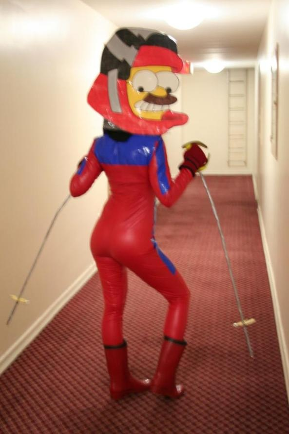 Sexy Flanders Halloween