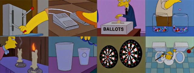 Simpsons Episodes for a Dreary Election | Dead Homer Society