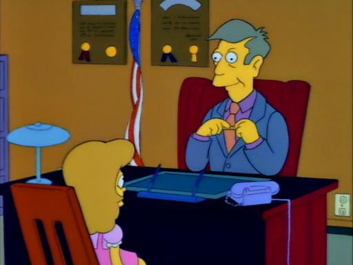 Bart's Friend Falls in Love11
