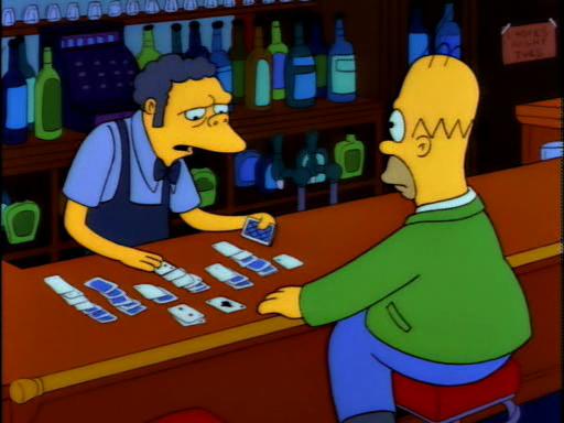 simpsons moe s tavern