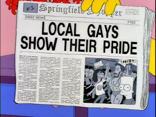 Homer simpson gay quote