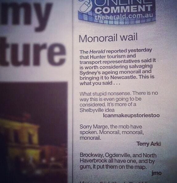 Monorail wail