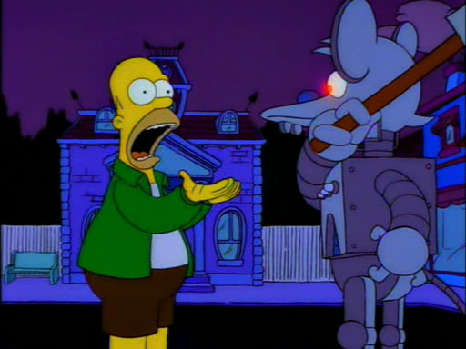 Itchy and Scratchy Land12