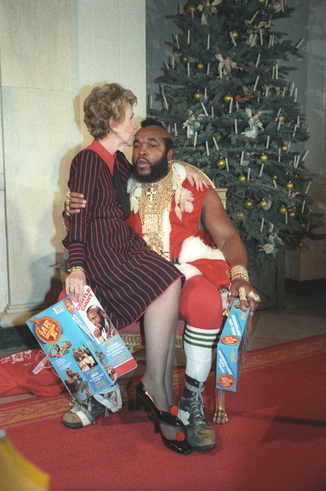 Mr. T and the Nancy Reagan
