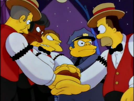 Homer's Barbershop Quartet11