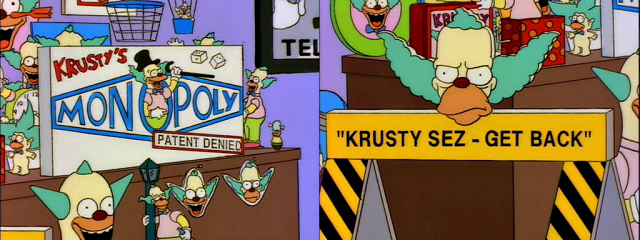 Krusty Sez Buy More