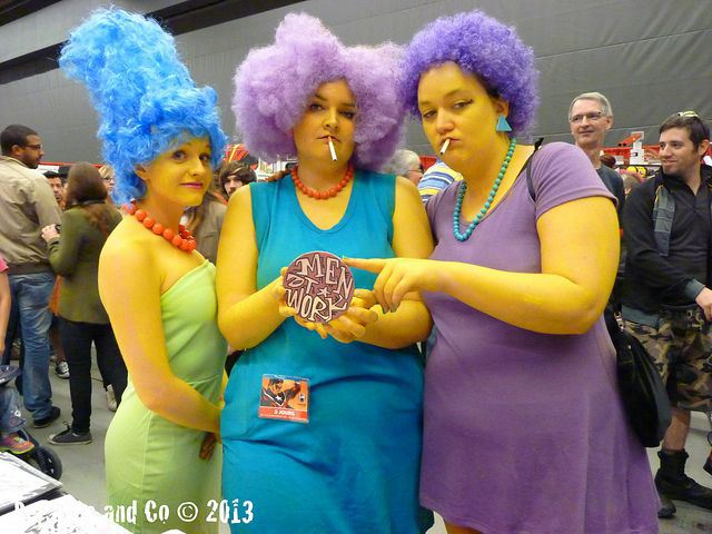 Bouvier Family Cosplay