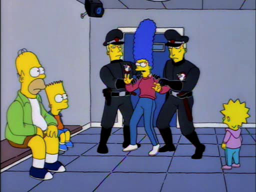 Itchy and Scratchy Land15
