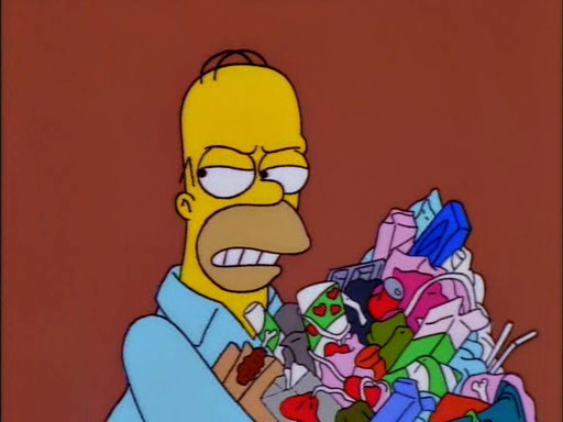 Trash of the Titans | Dead Homer Society