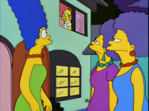 Homer vs Patty & Selma11
