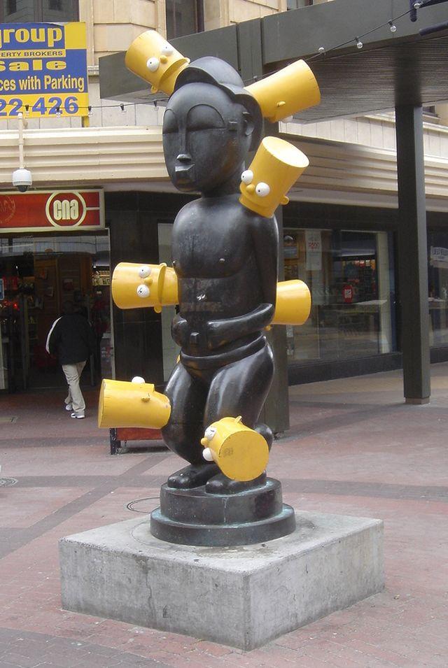 Africa Bart Statue