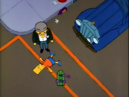 Bart Gets Hit By a Car13