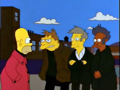 Homer's Barbershop Quartet12