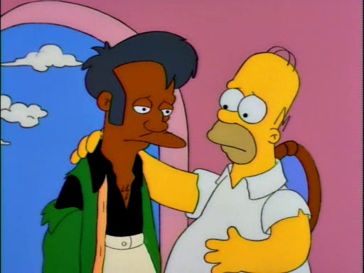 Homer and Apu13