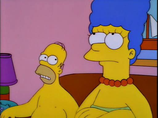 Homer simpson cunt face