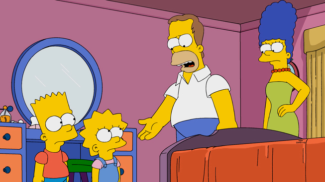 foto the the simpsons: