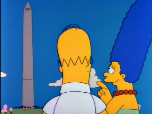 Mr Lisa Goes to Washington10