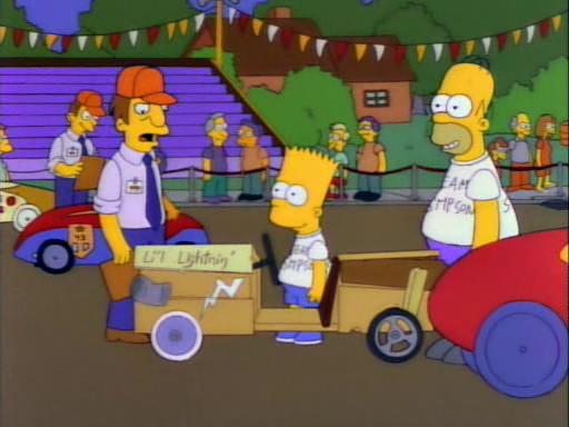 Saturdays Of Thunder Dead Homer Society